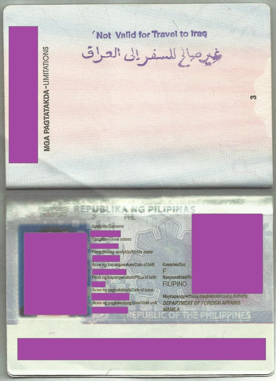 Lady Stapler How To Renew Your Philippine Passport In Riyadh