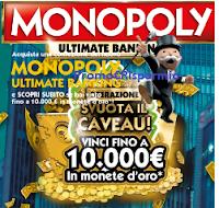 Logo Con Hasbro vinci monete d'oro da 100, 200 e 10.000 euro