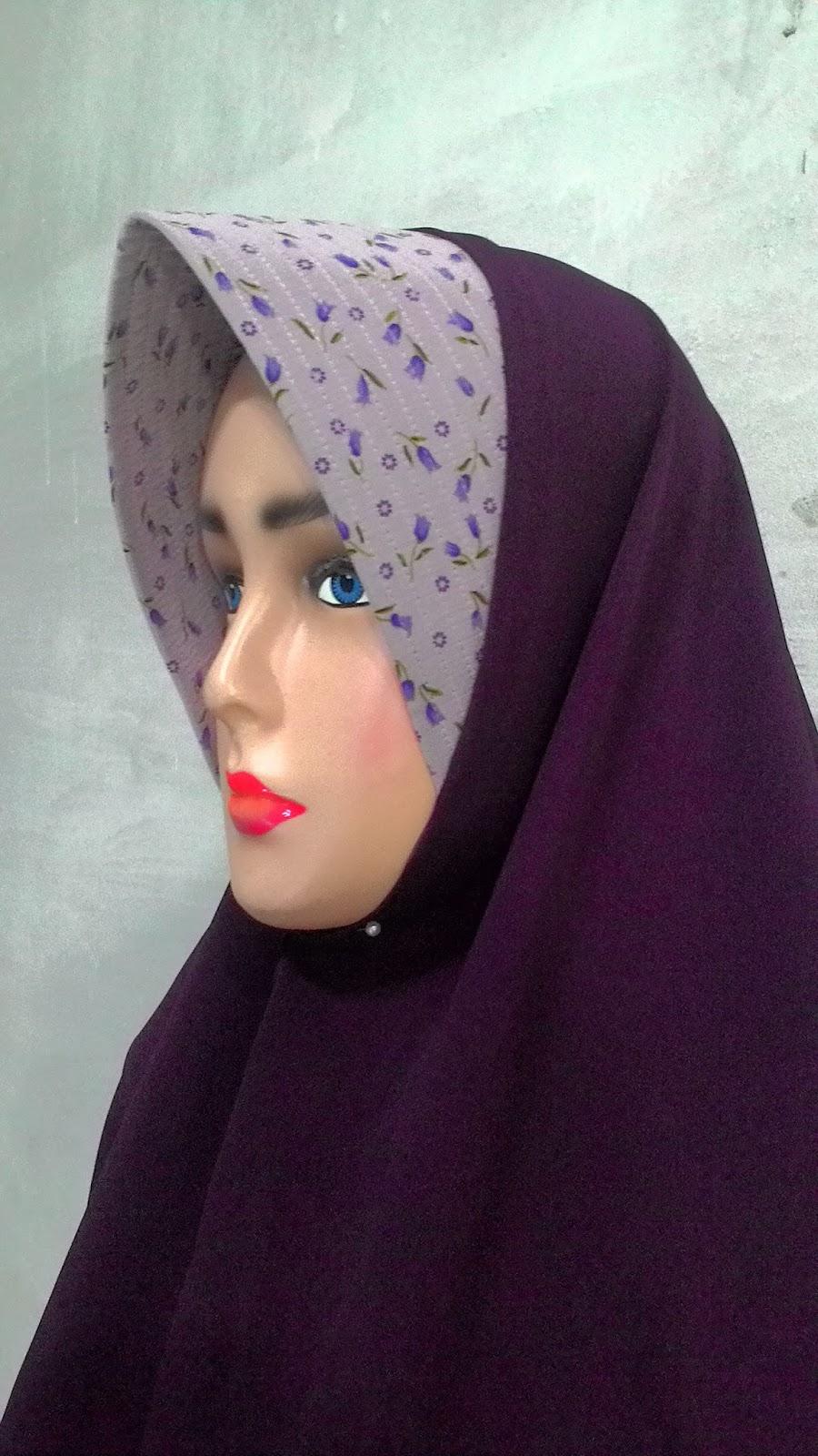Jilbab Khimar Untuk Muslimah Size Jumbo Syari 04