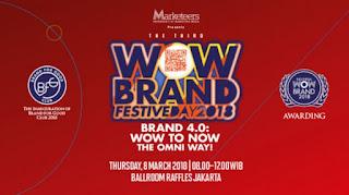 cari tiket seminar wow brand festive day di ciputra world satu jakarta