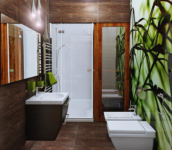Kamar mandi nyaman memanjang