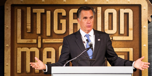 US President-elect Donald Trump offers an olive branch to Mitt Romney