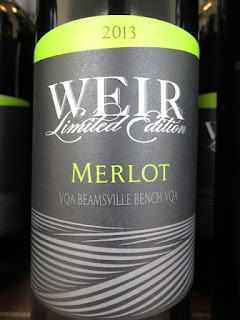 Mike Weir Limited Edition Merlot 2013 - VQA Beamsville Bench, Niagara Peninsula, Ontario, Canada (88 pts)