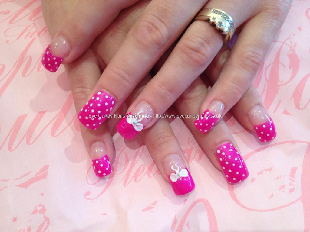 Stylish and Cute Nail Designs with Bows and Diamonds for Girls ...