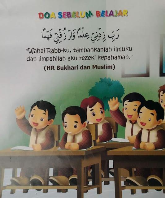 Doa Harian Untuk Anak Anak , Doa Sebelum Belajar , Doa Sebelum Belajar Bergambar
