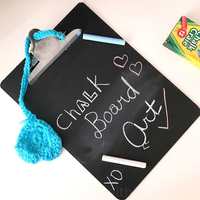 diy chalkboard recycle