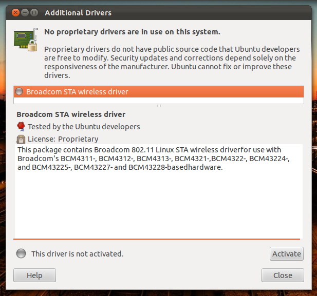 BCM4322 UBUNTU DRIVERS FOR WINDOWS VISTA