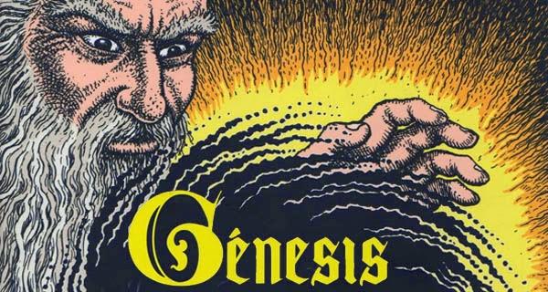 Génesis: El primer libro de la Biblia según Robert Crumb