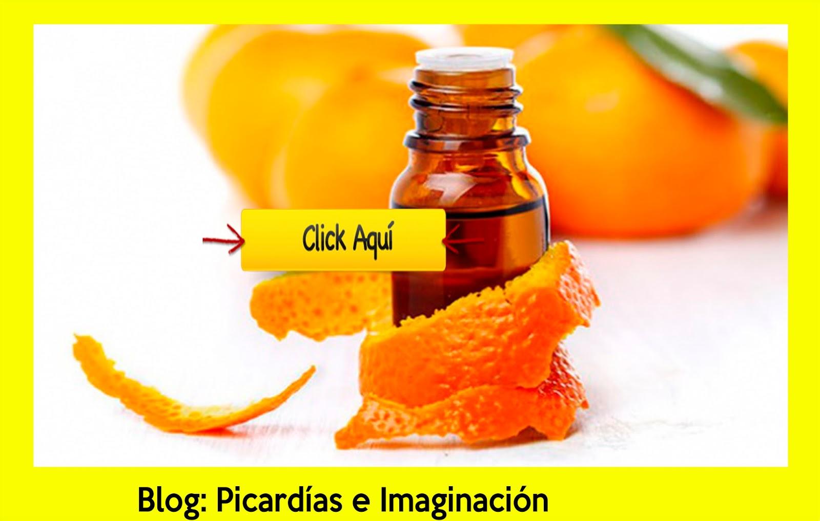 Picard as e imaginaci n aceite esencial de naranja contra - Como se quitan las manchas de aceite ...