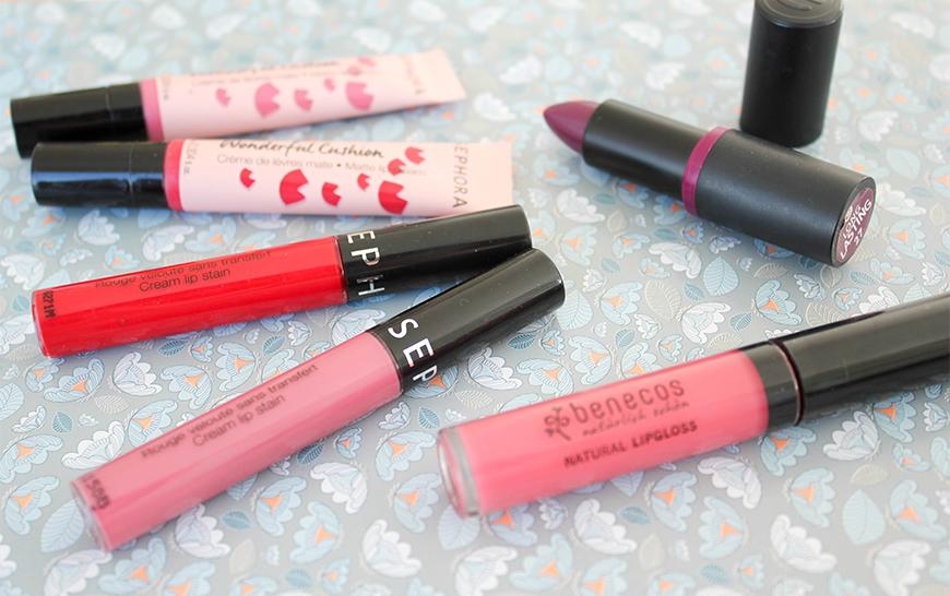 Sélection de Printemps, Rouges à lèvres
