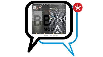 BBM Mod Blackid Mixlatte apk v2.13.1.14 Terbaru