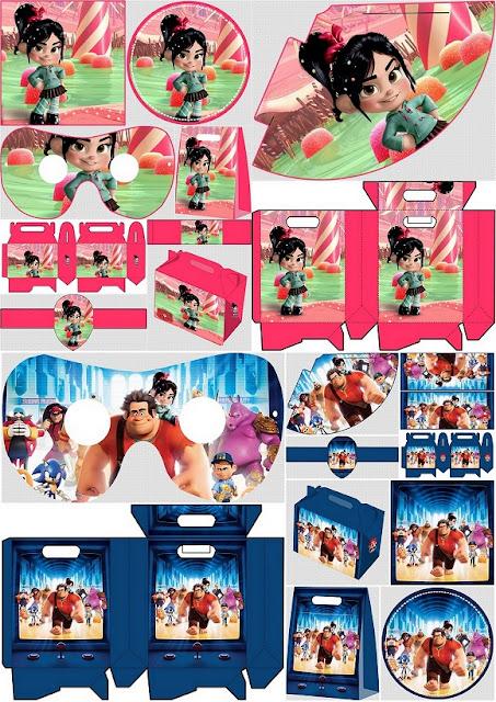 Ralph el Demoledor: Kit para Fiestas para Imprimir Gratis.