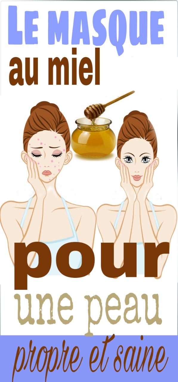 Le masque au miel pour une peau propre et saine