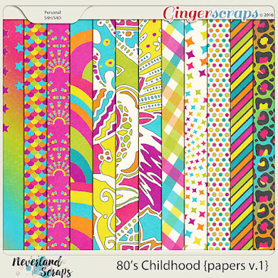 http://store.gingerscraps.net/80-s-Childhood-papers-v.1.html