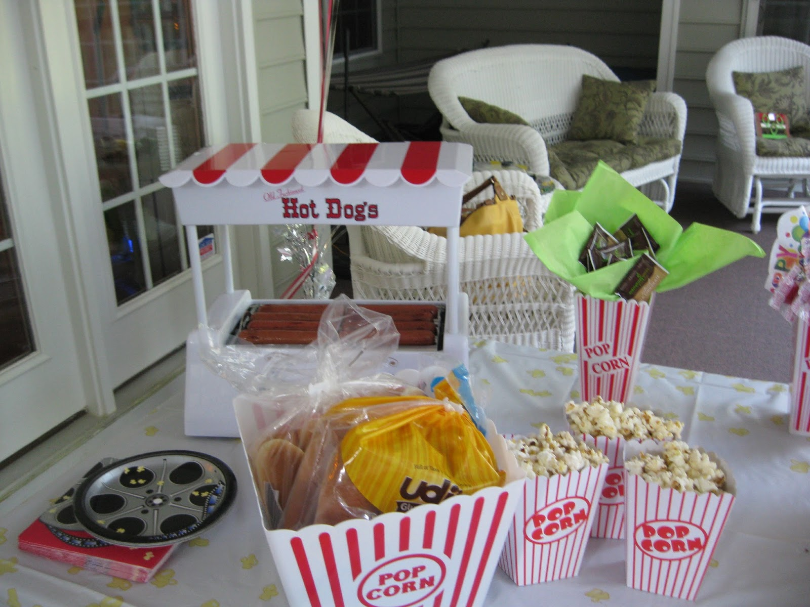 Solagratiamom Drive In Movie Themed Birthday