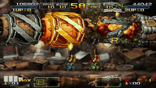 Game PPSSPP Metal Slug XX for Android (Patch English)