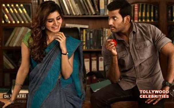 Samantha Vishal's  'Abhimanyudu' all set to hit screens soon
