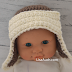 Crochet Baby Hat Pattern Aviator Hat Perfect for the Boys /3-6months/Toddler Size