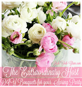 Delicious desserts, beautiful party decor and more entertaining inspiration for your spring party.