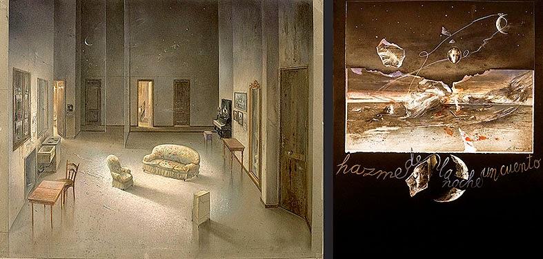 Bocetos de Eduardo Naranjo-Hazme de la noche un cuento