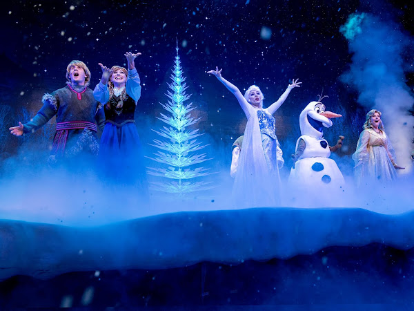 Five Shows You Can't Miss At Walt Disney World ❄️