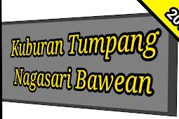 Kubur Tumpang di Kompleks Makam Nagasari Bawean