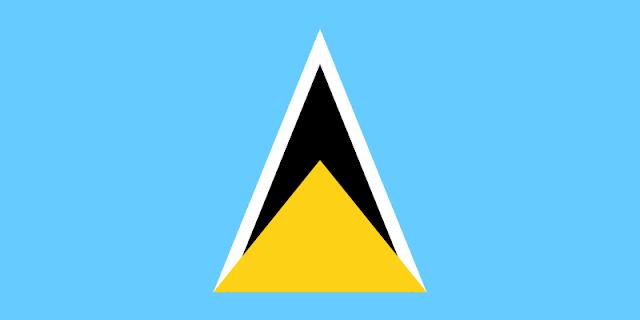 bendera-unik-saint-lucia