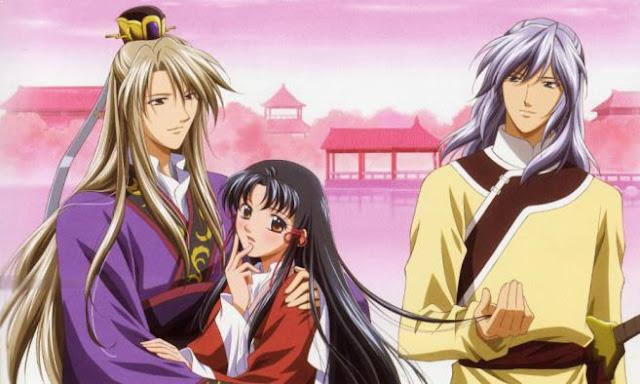 Saiunkoku Monogatari (The Story of Saiunkoku) - Best Fantasy Romance Anime list