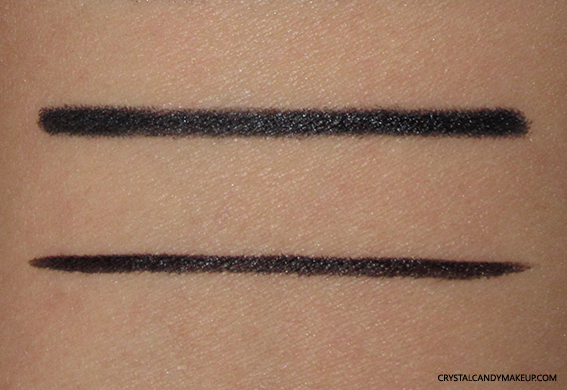 PUPA Vamp Duo Liner Kajal 001 Deep Black Review Swatch