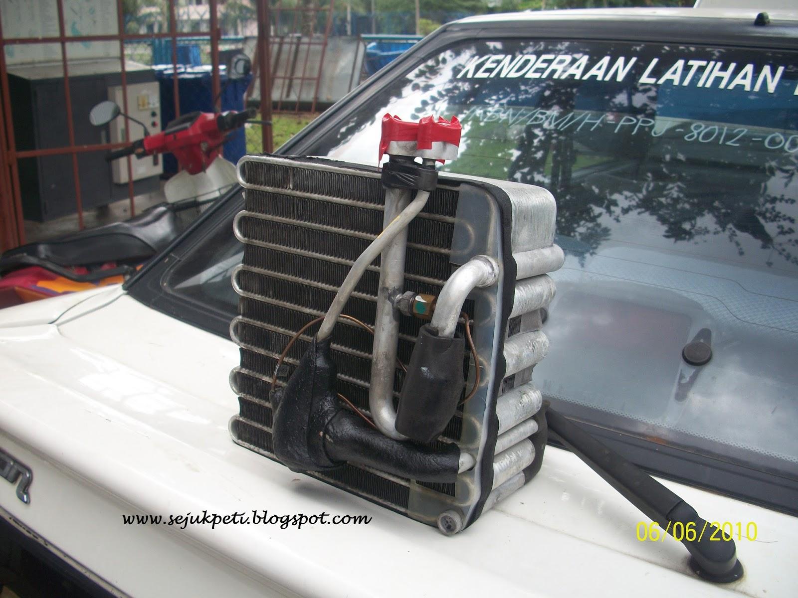 Sejuk Segar Nyaman Cuci Cooling Coil Aircond Kereta