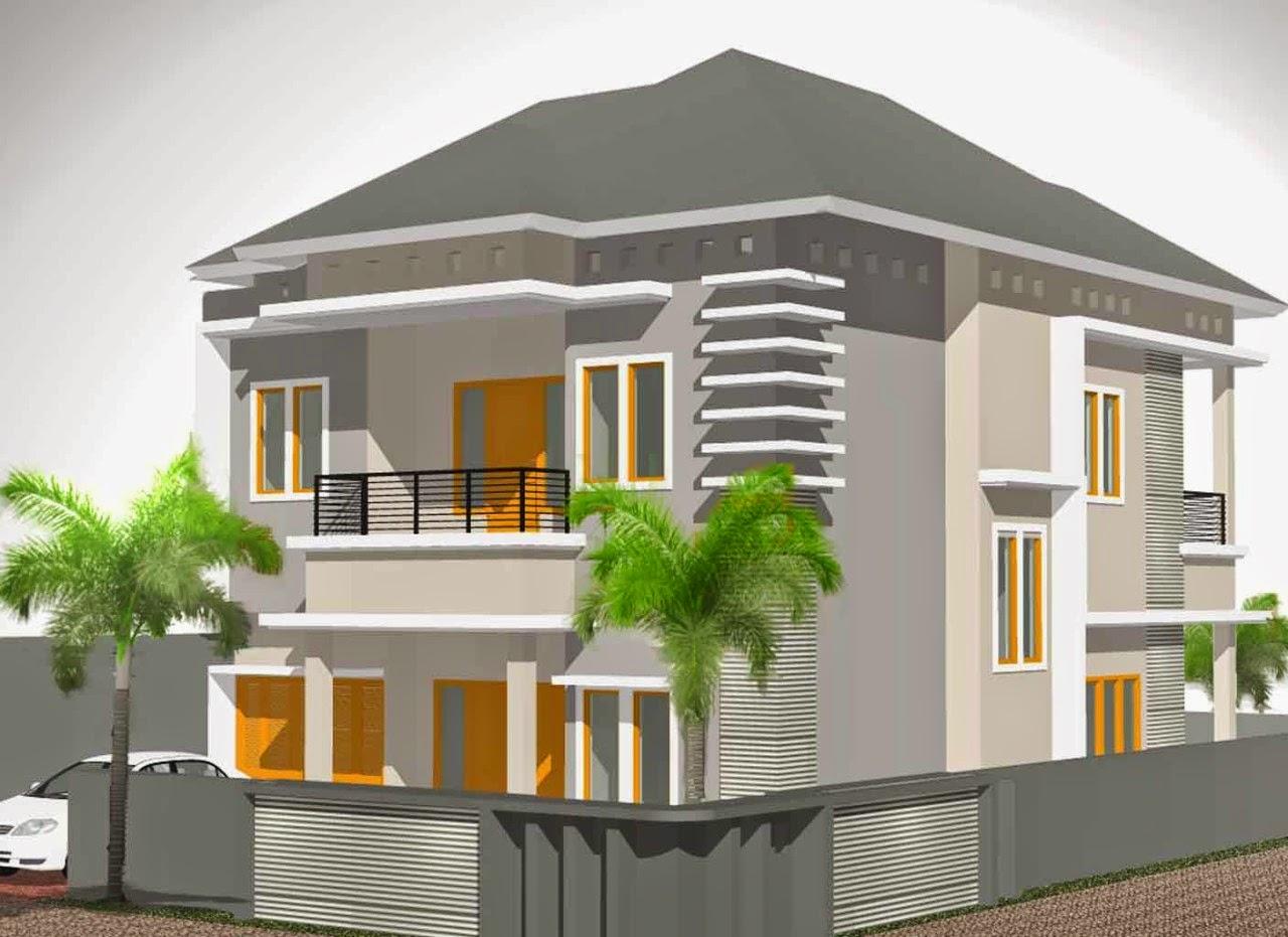 66 Desain Rumah Minimalis Modern 2 Lantai Hook  Desain