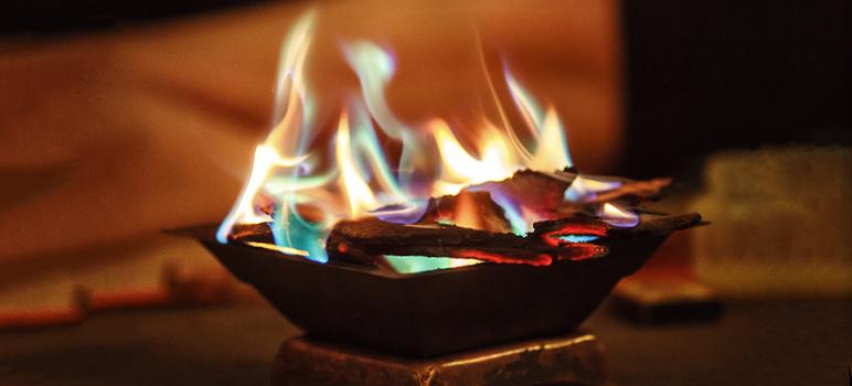 Terapia Homa, Sanación de Fuego.