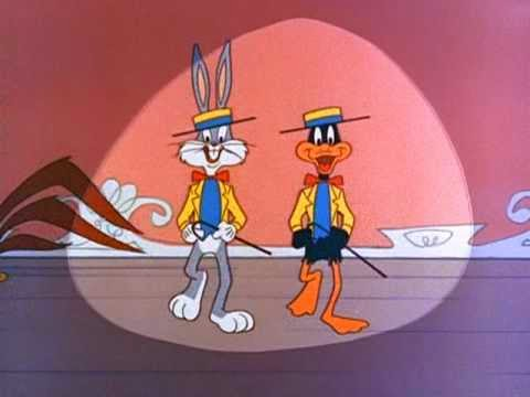 """This is it"" with Bugs Bunny and Daffy Duck"