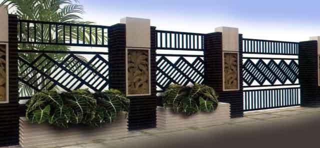 Contoh Gambar Pagar Rumah Mewah Minimalis | Blog Interior ...