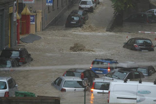Heavy Rain, Floods Lash Italy