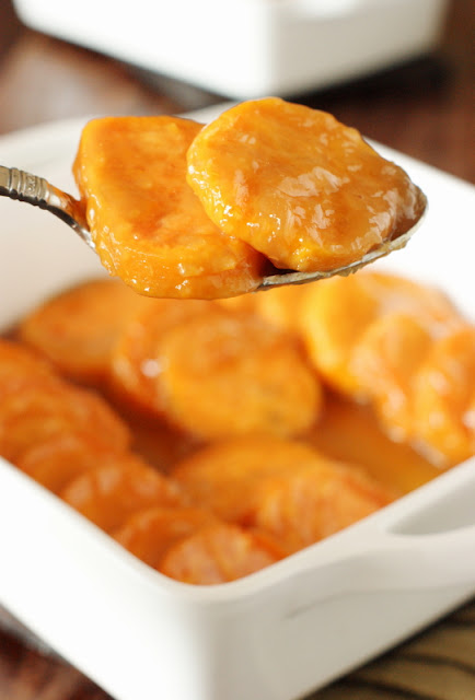 Brown Sugar Glazed Sweet Potato Coins Image