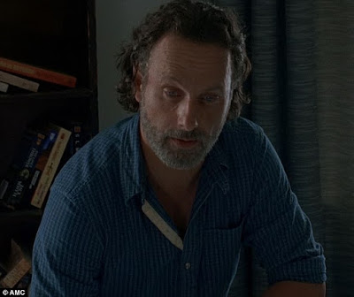 Rick reveals to Michonne he's not Judith's father