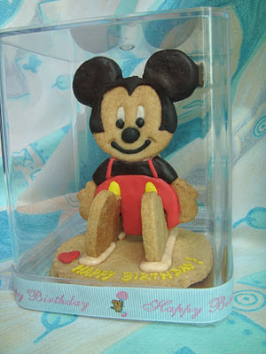 Yummy Baking 3d Mickey Mouse Cookies