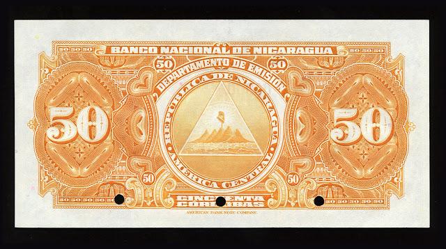 50 Cordobas banknote