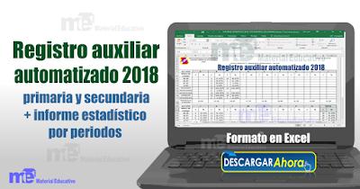 Registro auxiliar automatizado 2018
