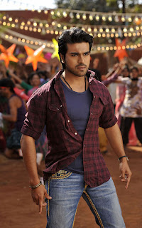 Ram Charan in racha song