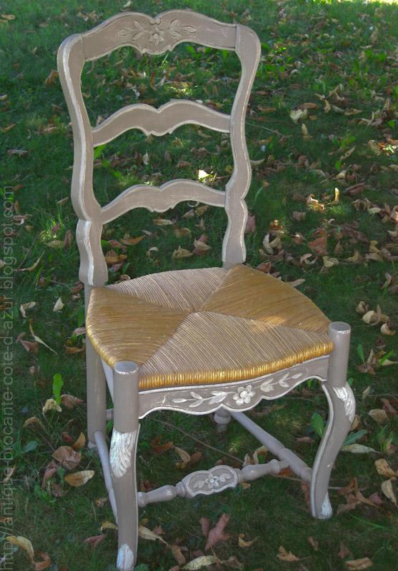 antiquit s brocante c te d 39 azur chaises style louisxv proven al a vendre. Black Bedroom Furniture Sets. Home Design Ideas