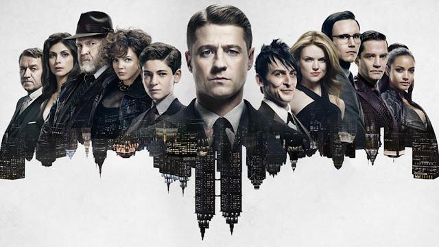 Cabecera de la serie Gotham