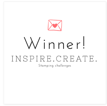I was a winner on Inspire Create Challenge,