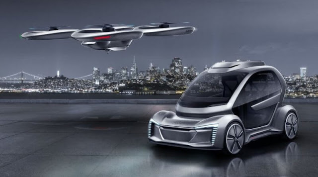 Germany ready for Flying taxi proposal by Audi and Airbus