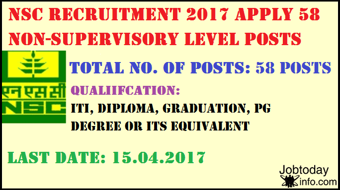 National Seeds Corporation Limited Recruitment 2017 for Trainee Posts – Apply Online