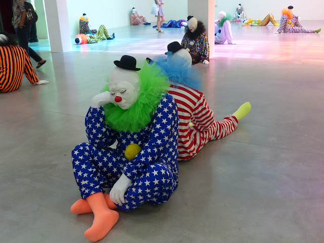 Ugo Rondinone clowns