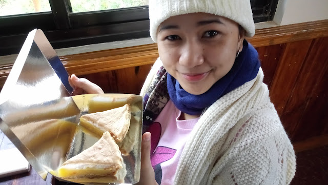 Sagada food trip, lemon pie