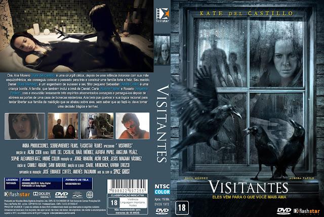 Capa DVD Visitantes