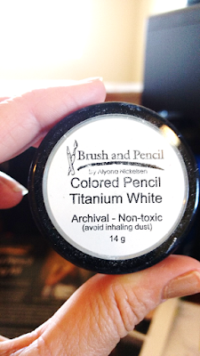 Colored Pencil Titanium White